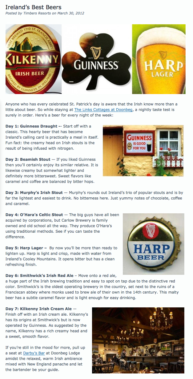 Ireland's Best Beers