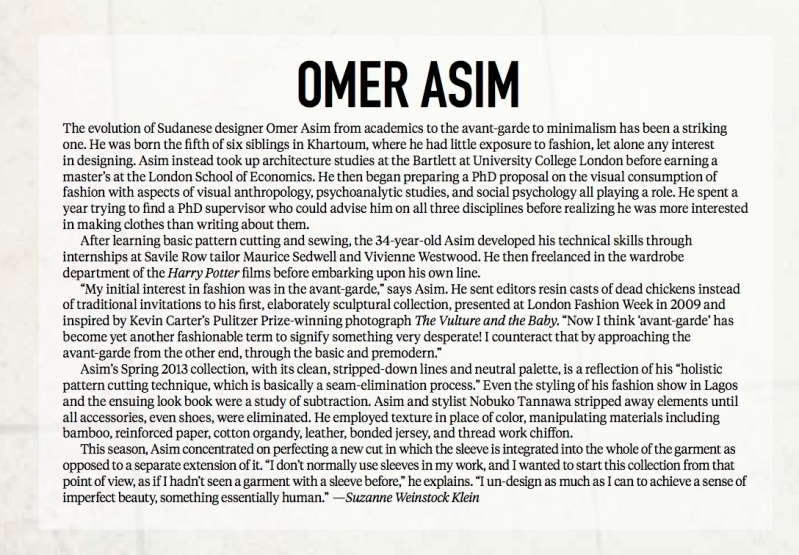 Omer Asim text