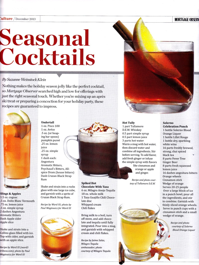 December - drinks